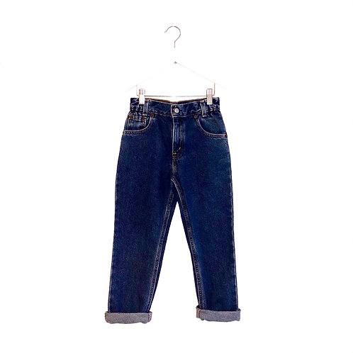 "Vintage Levi's Slim Leg Jeans (W23"" L21"" Approx 6y)"