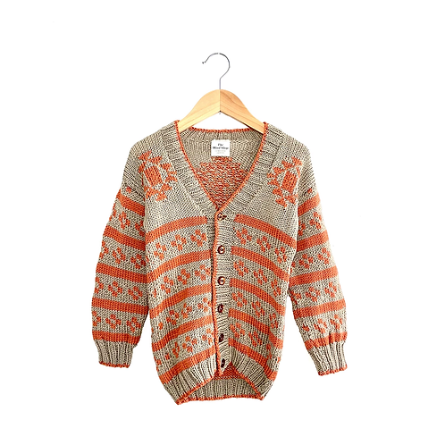 Gorgeous Vintage Knitted Cardigan (6/8y)