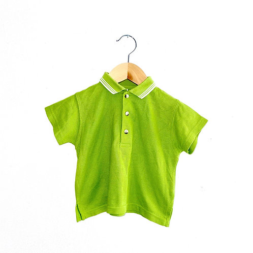 Vintage Adams Lime Green Polo Shirt (1/2y)