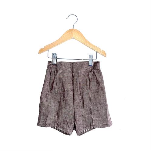Vintage 70's Light Brown Shorts (3y)