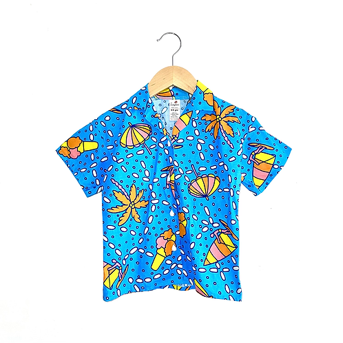Vintage Beach Print Shirt (4/5y)