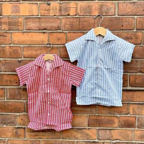 TWINNING: Vintage 70's Unworn Deadstock Shirts (3/5y)
