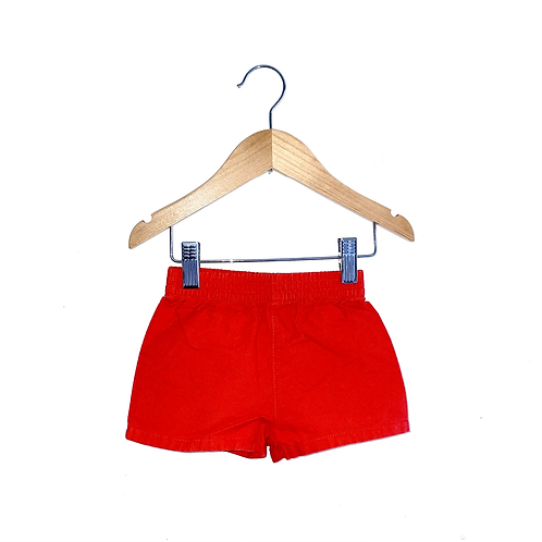 Vintage Red Shorts (3/9m)