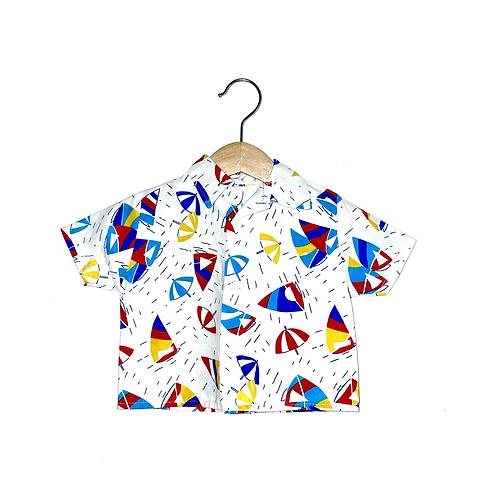 Vintage Printed Summer Shirt (6m+)