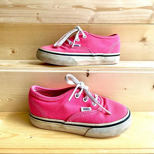 Neon Pink Vans (UK7/EU24)