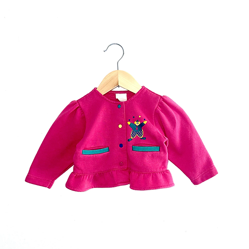 Vintage Jersey Frill Hem Cardigan (12/18m)