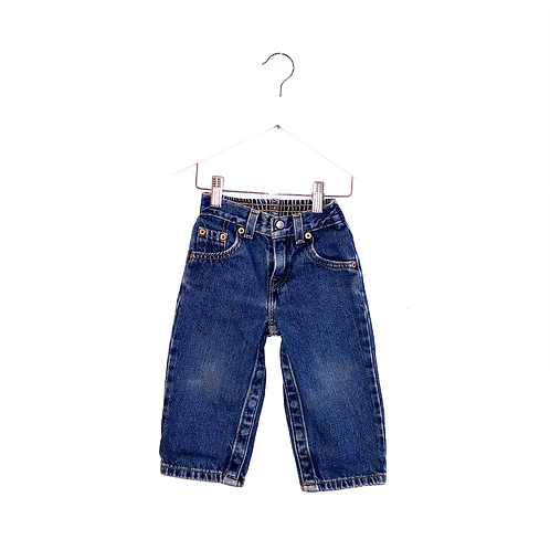 "Vintage Levi's Elasticated Waist Jeans (Approx 18m: Waist 18-20"", Leg 10"""