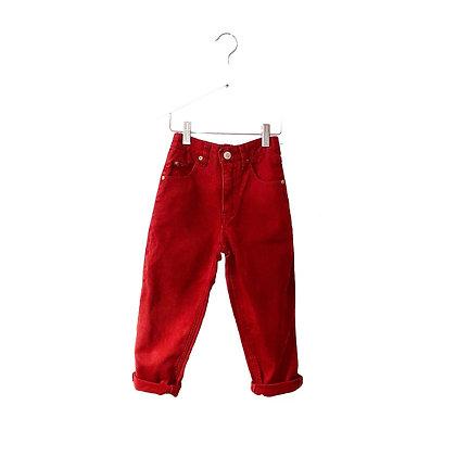 Vintage Burgundy Jeans (4y - see measurements)