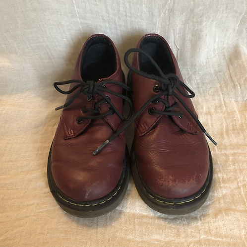 Cherry Red Dr Marten Lace-up Shoes (size11)
