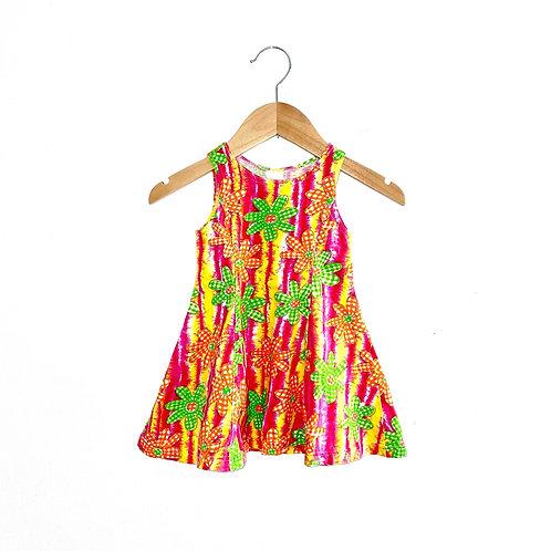 Bright Vintage Patterned Sun Dress (9/18m+)