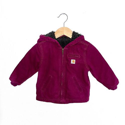 Incredible Carhartt Chore Jacket Snuggly Fleece Lining (2/3y)