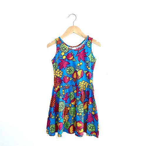 Tropical Print Vintage Jersey Dress (6/7y)
