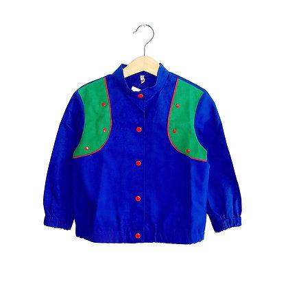 Vintage Cotton Colourblock Jacket (3y)