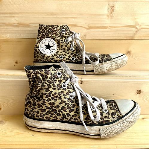 Leopard Print Converse (UK12/EU30)