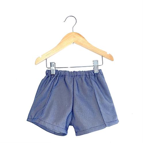 Vintage 70's Blue/Grey Shorts (2y)