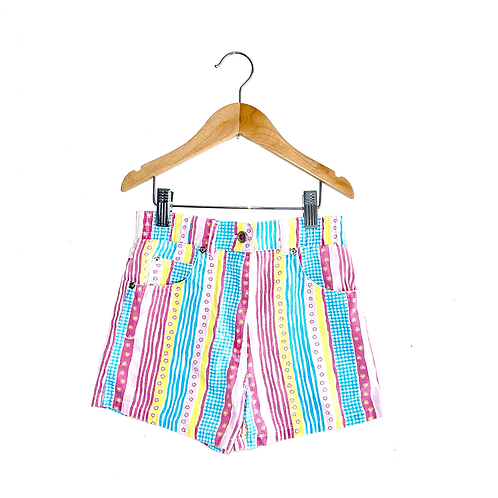 Jazzy Vintage Patterned Shorts (4/5y)