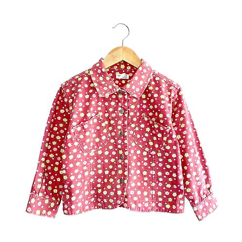 Vintage Floral Denim Jacket (6y+)