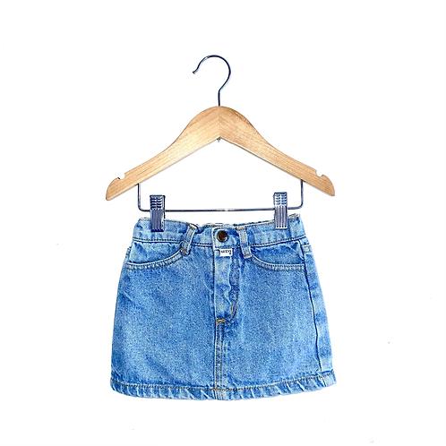 Cute Vintage Guess Denim Skirt (12m)