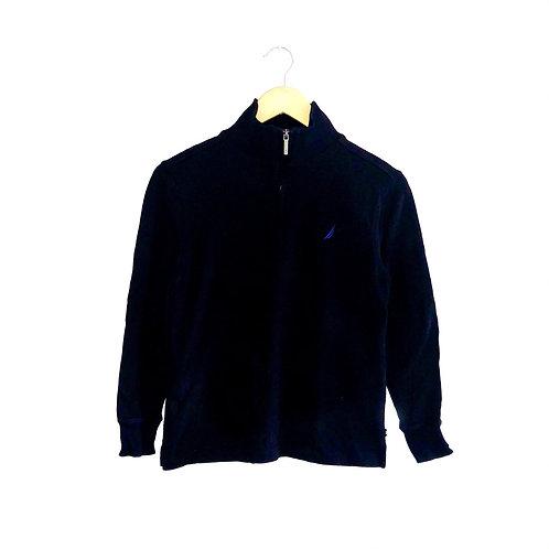 Vintage Black Nautica Half Zip (approx 10y)