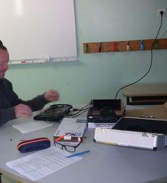 atelier enregistrements fred lavial conteur et manou verilhac technicien