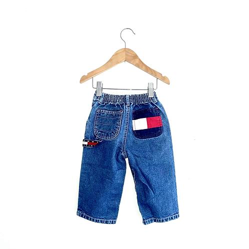Vintage Tommy HilfigerJeans with Elasticated Waist (12/18m+)