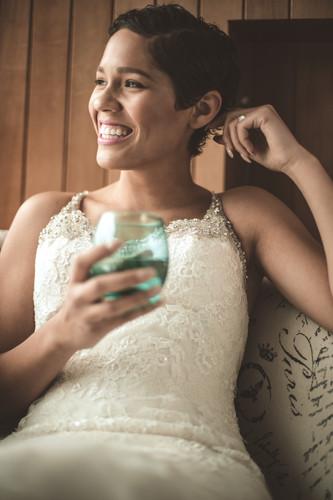 Laughing Bride 2