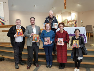 Holy Cross Parish Workshop: Blessing of the Icons