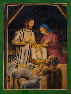 Nativity with Shepherd