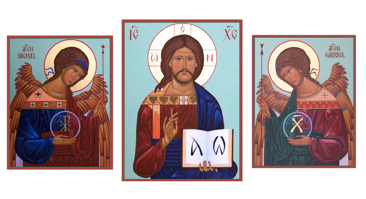Pantocrator with Archangels