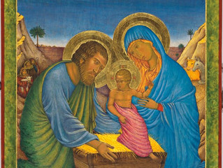 The Nativity : Guest Blog gives insight into Beautiful Commissioned Work for Archdiocese of Vancouve