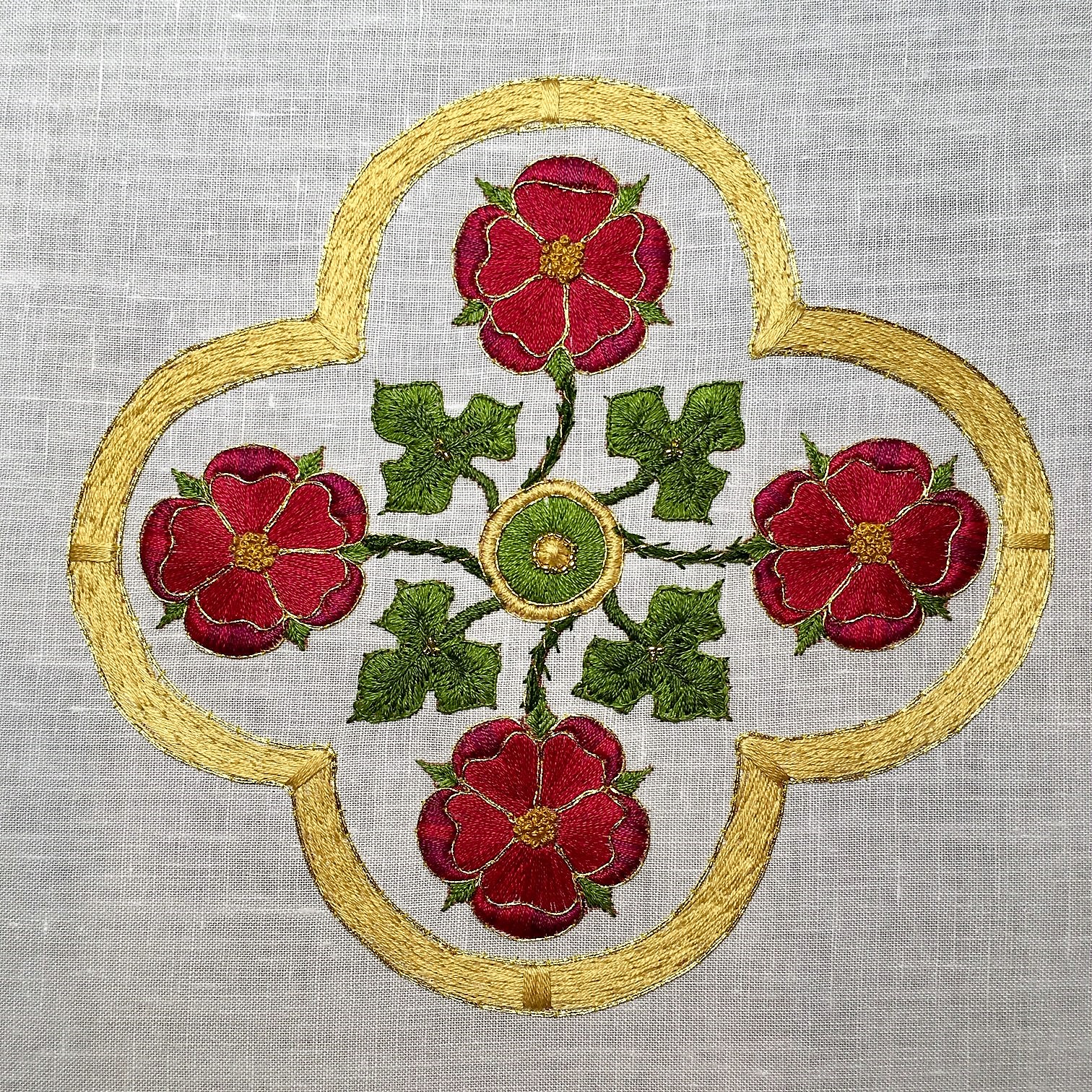 Rose Cross Medallion