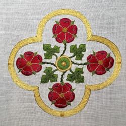 Rose Cross Medallion