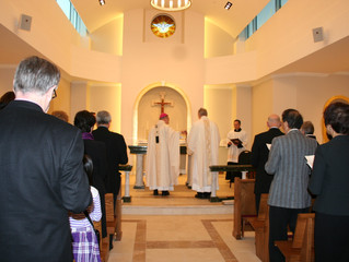 ESAG Members attend Dedication of new Chapel of Annunciation