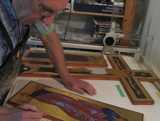 A Journey of Prayer and Work through Iconography