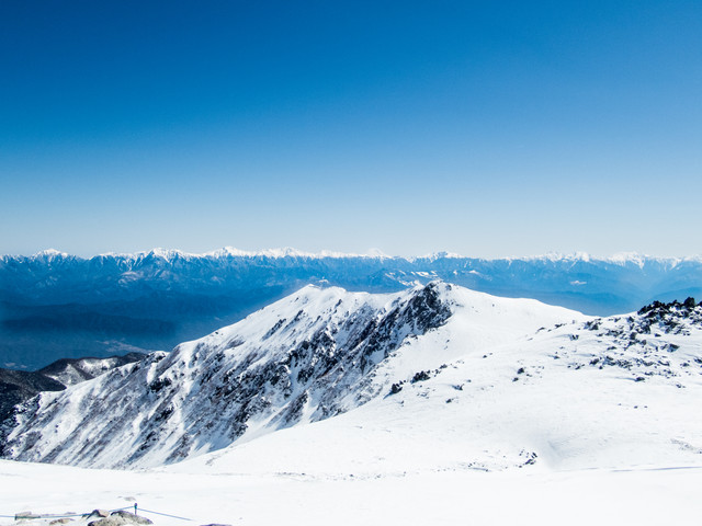 冬の木曽駒ケ岳