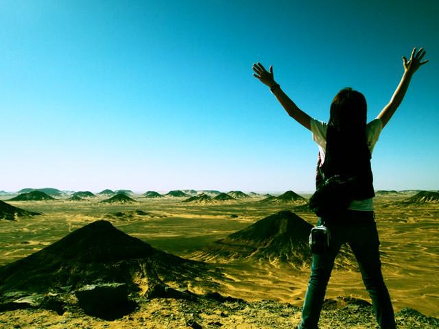 2010年エジプトの旅 DAY③④⑤ 太古の姿を残す砂漠「バハレイヤ・オアシス」へ!
