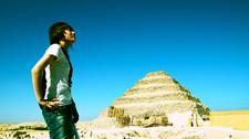 2010年エジプトの旅 DAY②サッカーラの階段ピラミッド