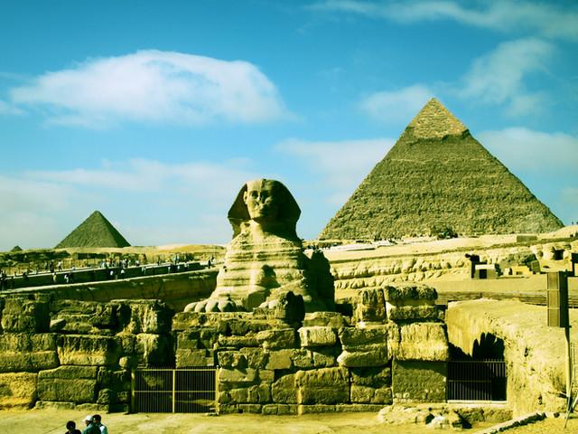 2010年エジプトの旅 DAY①とりあえずピラミッド編