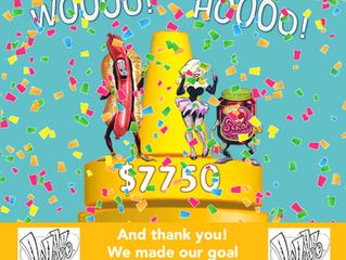 Webb Kickstarter a Big Success!