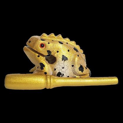 """3"""" Egyptian Dart  Frog (Gold)"""