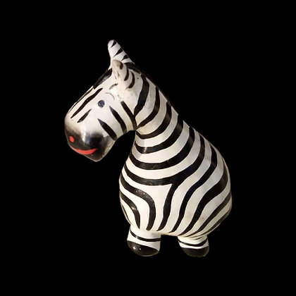 Mini Zebra Decor Figurine