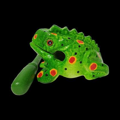 "3""  Green Spring Frog"