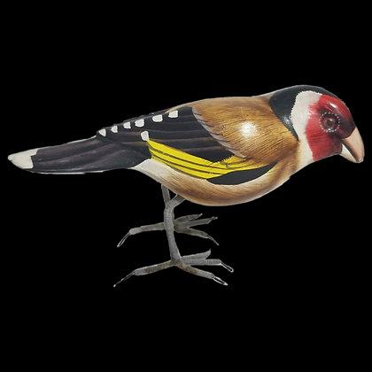 Brown Bird Hand Painted