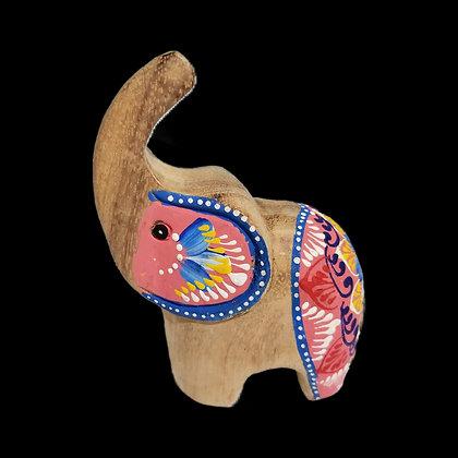 Unique Colorful Wisdom Elephant