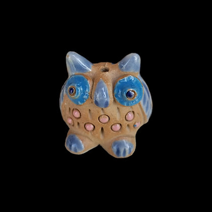 Ceramic Owl Incense Holder