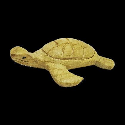 Green Wooden Turtle