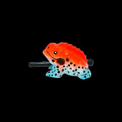 "1.5"" Red Dart  Frog"
