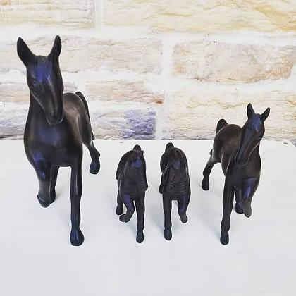 "4"" Horse Decor Figurine"