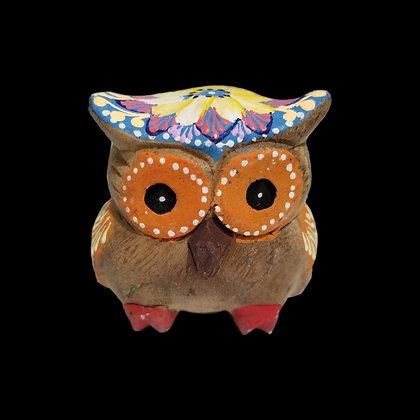 Unique hand-painted Owl B