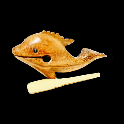 """4"""" Wooden Dolphin"""